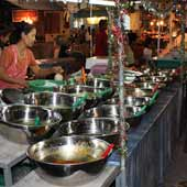 Food Market Koh Phangan