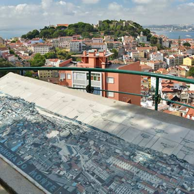 lisbon viewpoint hill