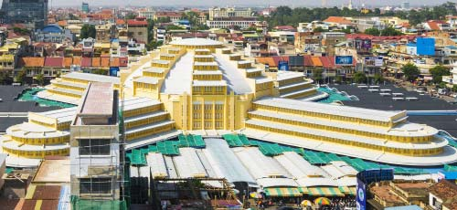 Phsar Thmei central market